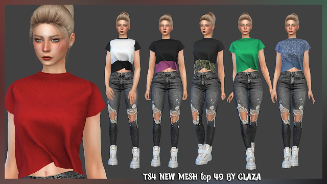 Sims 4 Top 49 at All by Glaza