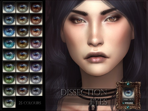 Sims 4 Dissection Eyes by RemusSirion at TSR