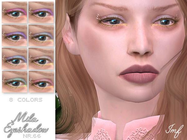 Sims 4 IMF Mila Eyeshadow N.66 by IzzieMcFire at TSR