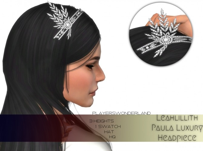 LeahLilith Paula luxury headpiece at PW's Creations image 303 670x498 Sims 4 Updates