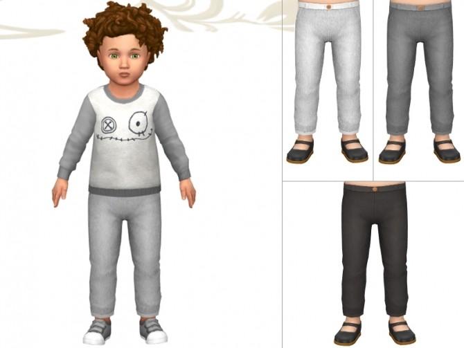 Sims 4 Stretchy pants by Fuyaya at Sims Artists