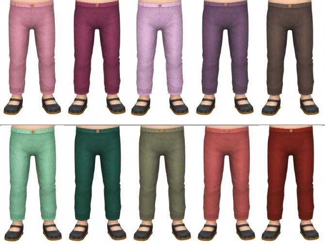 Stretchy pants by Fuyaya at Sims Artists image 3091 670x503 Sims 4 Updates