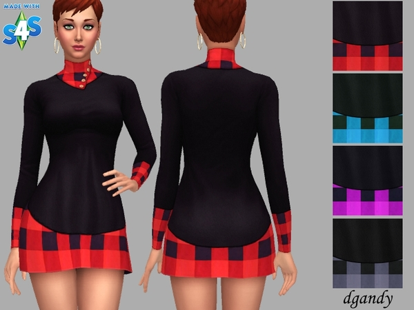 Ima Dress by dgandy at TSR image 3114 Sims 4 Updates