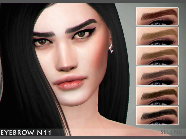 Eyebrow N11 by Seleng at TSR image 3129 Sims 4 Updates