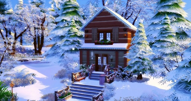 Chalet by Angerouge at Studio Sims Creation image 3141 670x355 Sims 4 Updates