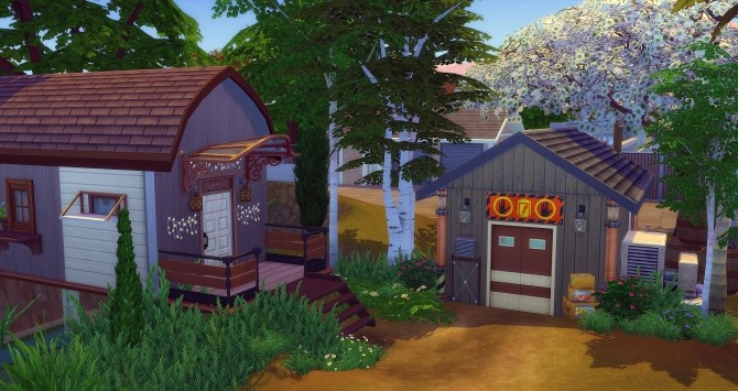 Sims 4 The Caravan of Noah by Angerouge at Studio Sims Creation