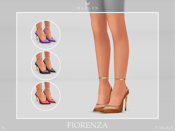 Madlen Fiorenza Shoes by MJ95 at TSR image 3211 Sims 4 Updates
