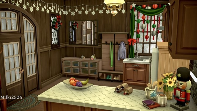 Winter vacation house at Milki2526 image 325 670x377 Sims 4 Updates
