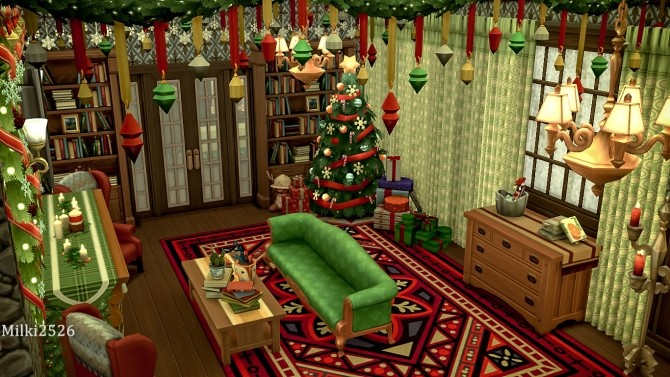 Winter vacation house at Milki2526 image 326 670x377 Sims 4 Updates