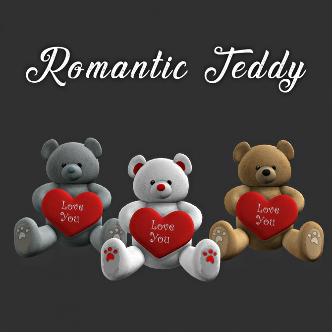 Romantic Teddy at Leo Sims image 3320 670x670 Sims 4 Updates