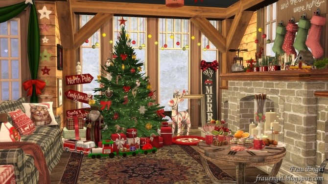Christmas Flowers Cottage at Frau Engel image 3351 670x377 Sims 4 Updates