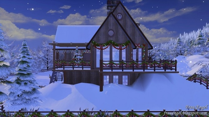 Christmas Flowers Cottage at Frau Engel image 3361 670x377 Sims 4 Updates
