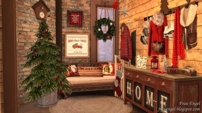 Christmas Flowers Cottage at Frau Engel image 3381 670x377 Sims 4 Updates