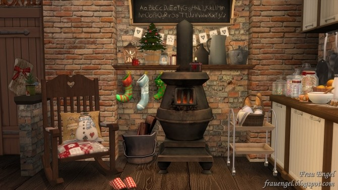 Christmas Flowers Cottage at Frau Engel image 3391 670x377 Sims 4 Updates