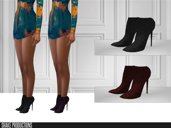 Sims 4 204 High Heels by ShakeProductions at TSR