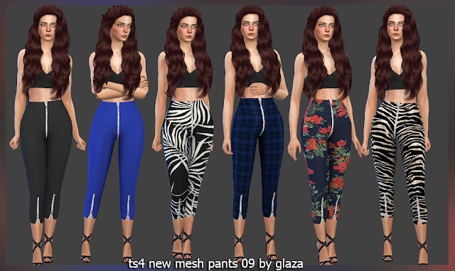 Sims 4 Pants 09 at All by Glaza