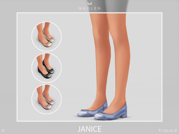 Sims 4 Madlen Junice Shoes by MJ95 at TSR