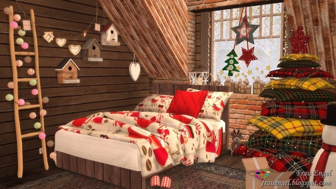 Christmas Flowers Cottage at Frau Engel image 3451 670x377 Sims 4 Updates