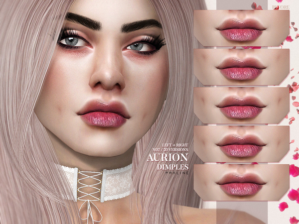 Sims 4 Aurion Dimples N07 by Pralinesims at TSR