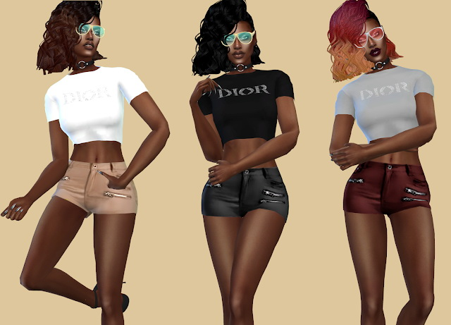 Slipped Leather Pants at Teenageeaglerunner image 3551 Sims 4 Updates