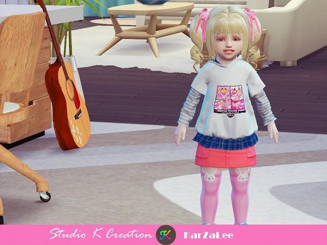 T02 hoodie sweatshirt for toddler at Studio K Creation image 356 670x502 Sims 4 Updates