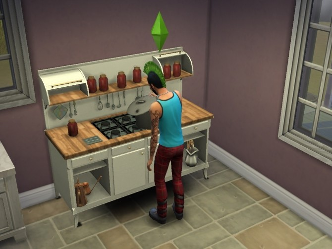 Sims 4 Canning Station TS1 recolor by Victor tor at Mod The Sims