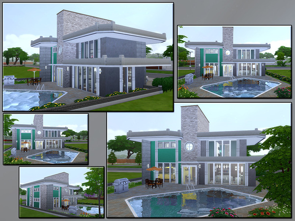 MB Durable Resistance house by matomibotaki at TSR image 362 Sims 4 Updates
