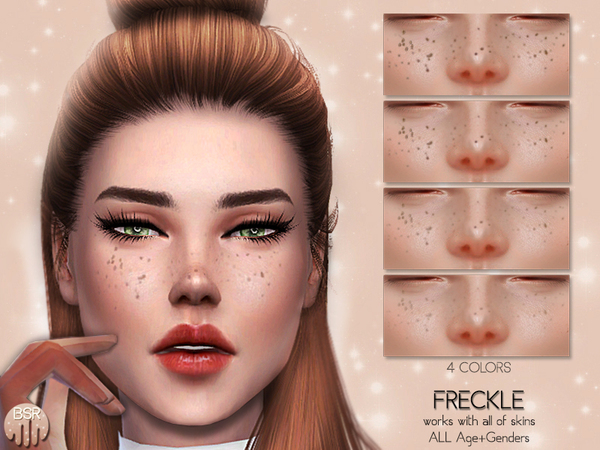 Freckle BH02 by busra tr at TSR image 3628 Sims 4 Updates