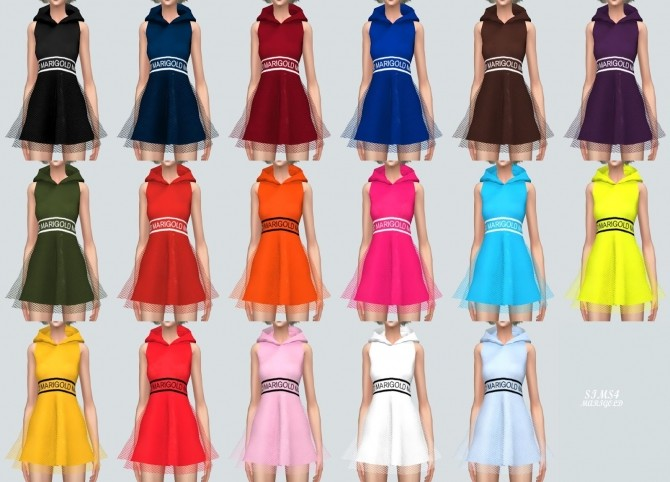 MG Hood Mini Dress at Marigold image 370 670x482 Sims 4 Updates