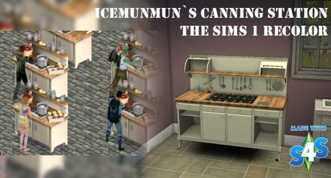 Canning Station TS1 recolor by Victor tor at Mod The Sims image 3711 670x360 Sims 4 Updates