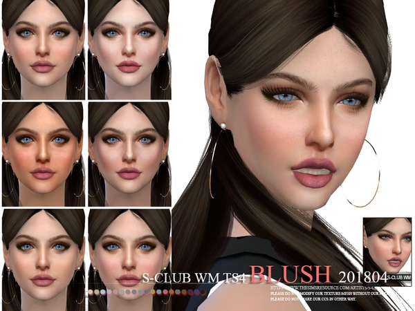 Blush 201804 by S Club WM at TSR image 3724 Sims 4 Updates