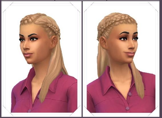 Sims 4 Front Braids Long Hair at Birksches Sims Blog