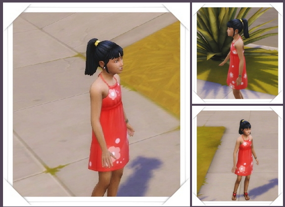 Girly's Color Band Ponytail at Birksches Sims Blog image 388 Sims 4 Updates