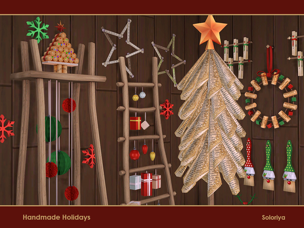Handmade Holiday objects by soloriya at TSR image 3922 Sims 4 Updates