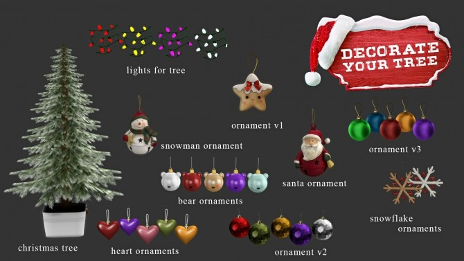 Decorate Your Tree at Leo Sims image 398 670x377 Sims 4 Updates