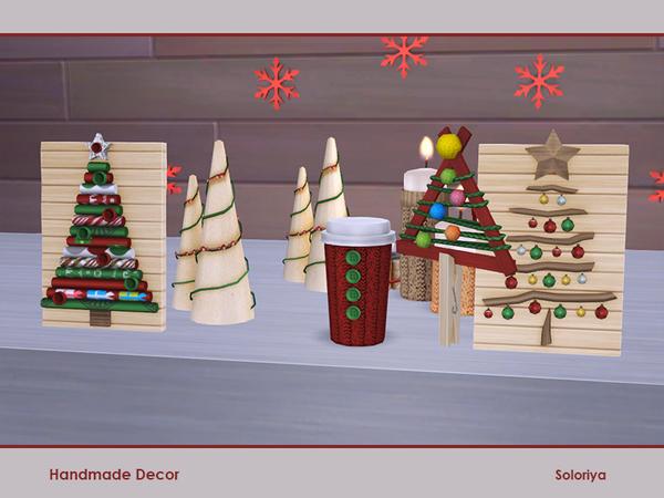 Sims 4 Handmade Decor by soloriya at TSR