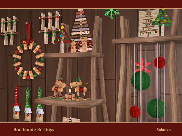 Handmade Holiday objects by soloriya at TSR image 4023 Sims 4 Updates