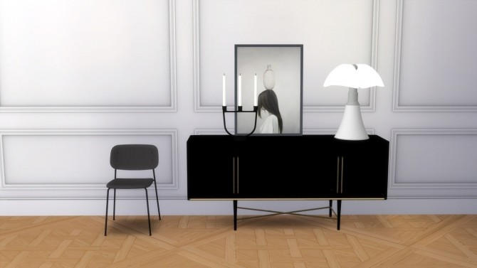 Sims 4 SOFT EDGE P10 chair and stool at Meinkatz Creations