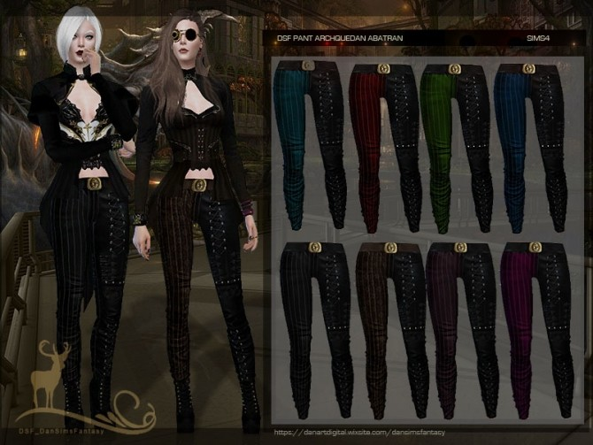 Pants Archquedan Abatran by DanSimsFantasy at TSR image 4100 670x503 Sims 4 Updates