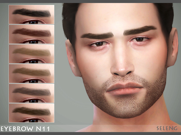 Eyebrow N11 by Seleng at TSR image 4106 Sims 4 Updates
