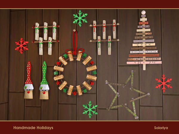 Handmade Holiday objects by soloriya at TSR image 4125 Sims 4 Updates