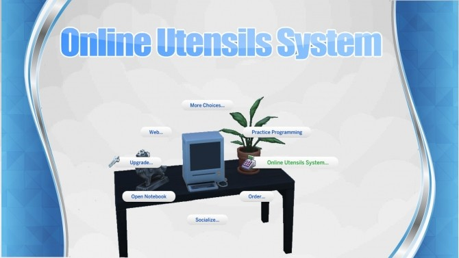 Sims 4 Online Utensils System by Itsmysimmod at Mod The Sims