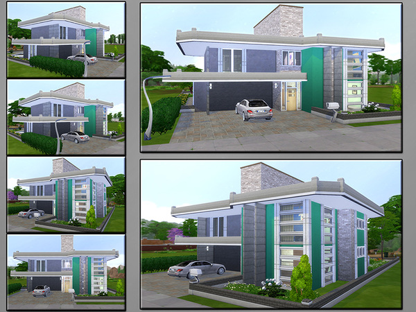 MB Durable Resistance house by matomibotaki at TSR image 423 Sims 4 Updates