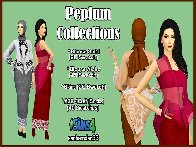 Hijab Model 054 Hair 002 & More Collections at Aan Hamdan Simmer93 image 437 Sims 4 Updates
