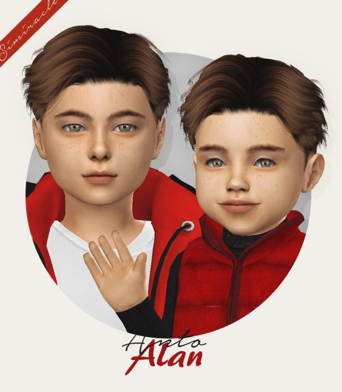 Anto Alan hair for kids and toddlers at Simiracle image 442 670x767 Sims 4 Updates