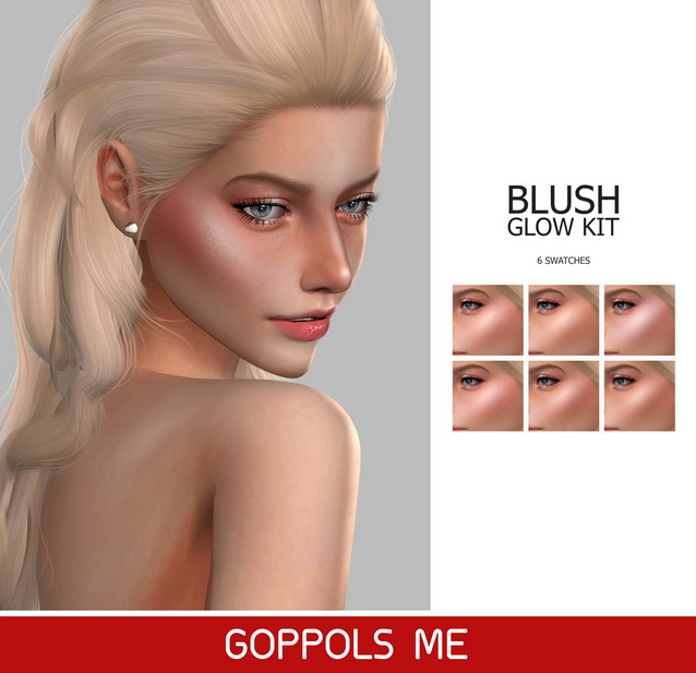 GPME Blush Glow Kit at GOPPOLS Me image 446 Sims 4 Updates