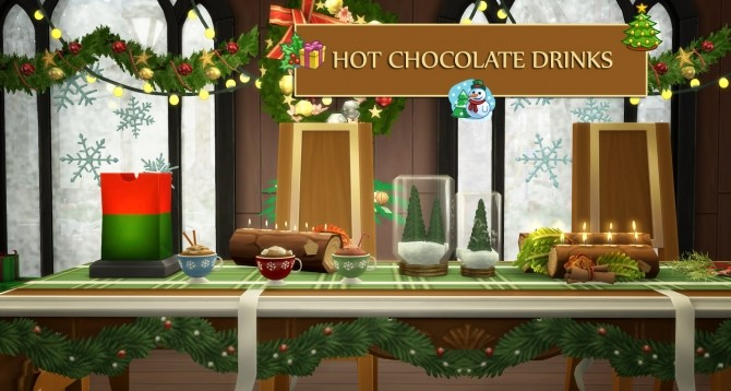 Sims 4 Hot Chocolate Drinks by icemunmun at Mod The Sims