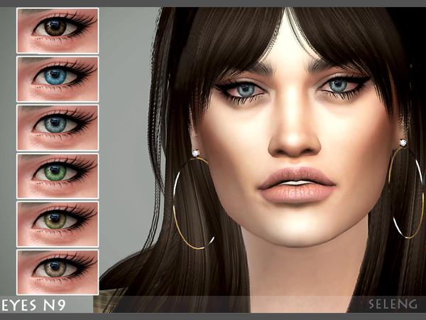 Sims 4 Eyes N9 by Seleng at TSR