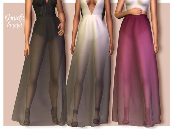 Sims 4 Gloria skirt by laupipi at TSR