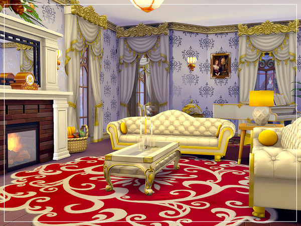 White Christmas house by sharon337 at TSR image 4619 Sims 4 Updates
